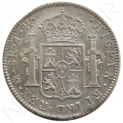 8 reales MEXICO 1804 - Carlos IV MEXICO TH