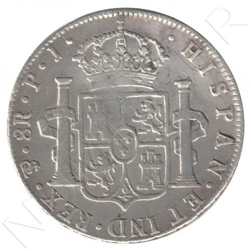8 reales ESPAÑA 1808 - Potosí (Bolivia) PJ
