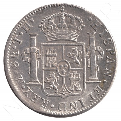 8 reales SPAIN 1808 - Carlos IV Mexico TH