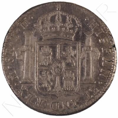 8 reales SPAIN 1805 - Carlos IV Mexico TH