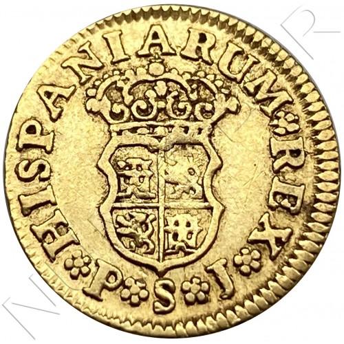 1/2 escudo SPAIN 1742 - MADRID JB