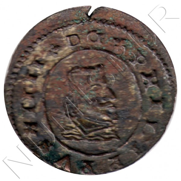 8 maravedies ESPAÑA 1662 - Felipe IV GRANADA N