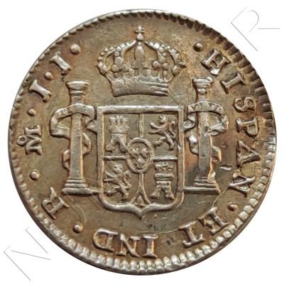 1/2 Real MEXICO 1821 - Fernando VII