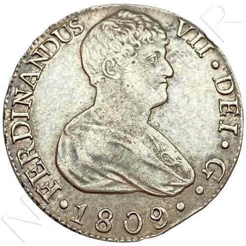8 reales SPAIN 1809 - Sevilla CN (Fernando VII)