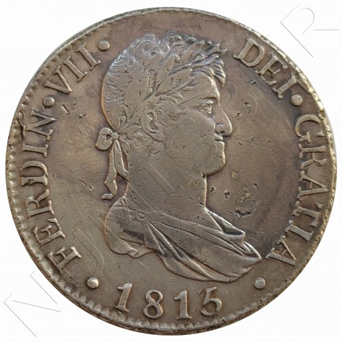 8 reales SPAIN 1815 - Fernando VII Madrid GJ