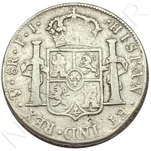 8 reales SPAIN 1815 - JP Potosi (Bolivia) Fernando VII