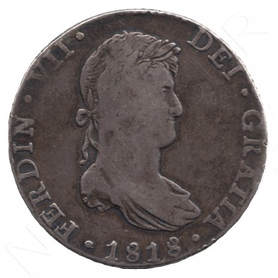 8 reales SPAIN 1818 - Fernando VII MEXICO