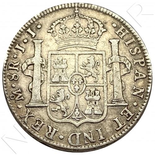 8 reales SPAIN 1818 - JJ Mexico Fernando VII