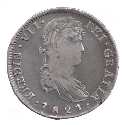 8 reales ESPAÑA 1821 - Fernando VII ZACATECAS