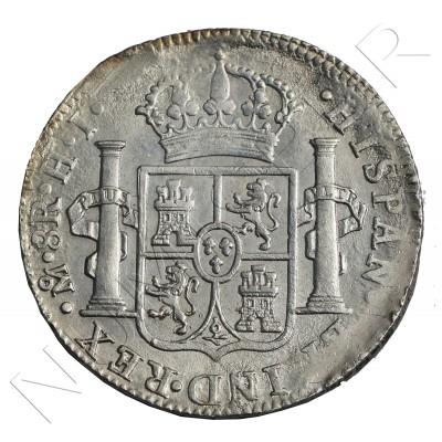 8 reales SPAIN 1810 - Fernando VII Mexico HJ
