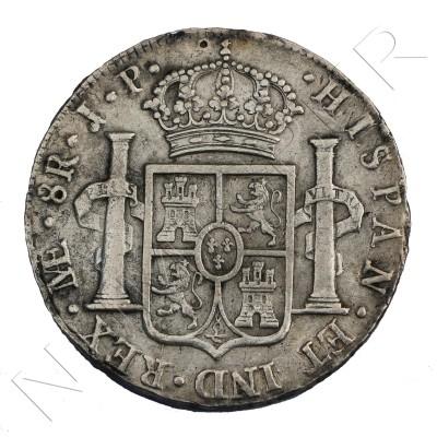 8 reales ESPAÑA 1815 - Fernando VII Lima PJ