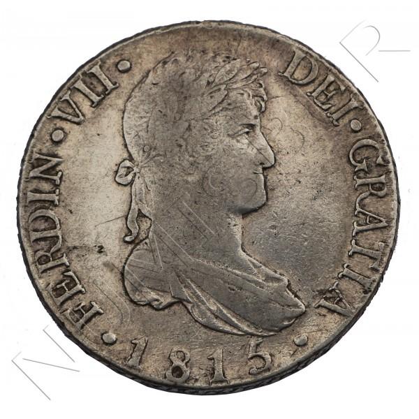 8 reales ESPAÑA 1815 - Fernando VII Madrid GJ