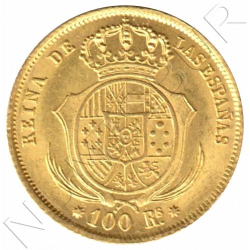 100 reales SPAIN 1854 - Sevilla