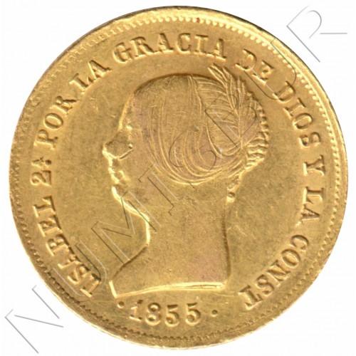 100 reales SPAIN 1855 - Sevilla