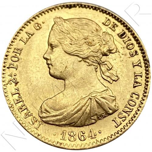 100 reales SPAIN 1864 - Madrid