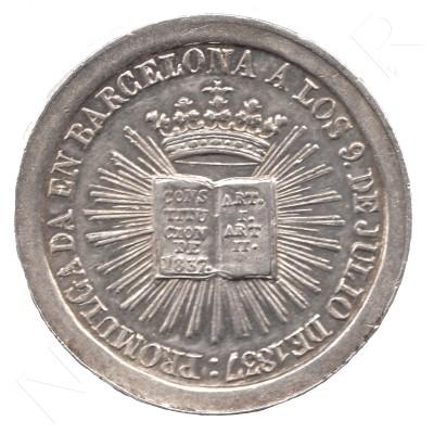 Medalla ESPAÑA 1837 - Isabel II