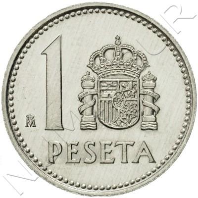1 peseta SPAIN 1983 UNC