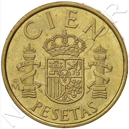 100 pesetas SPAIN 1982 UNC