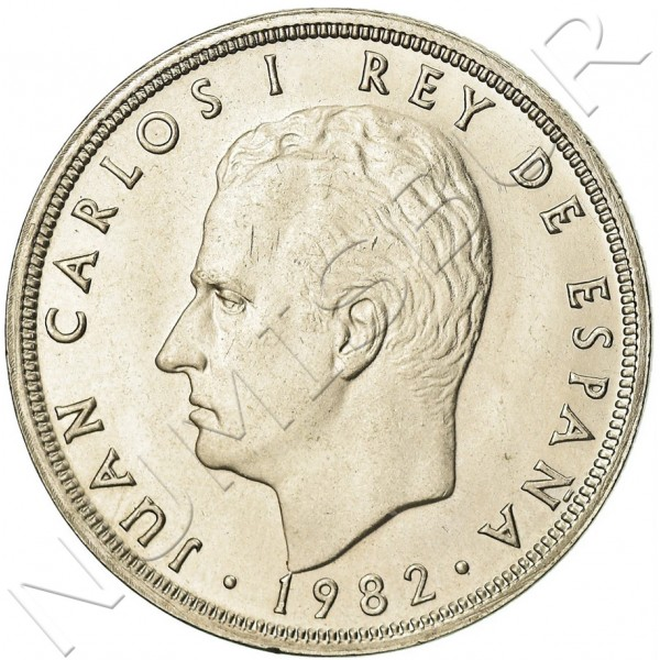 50 pesetas SPAIN 1982 UNC