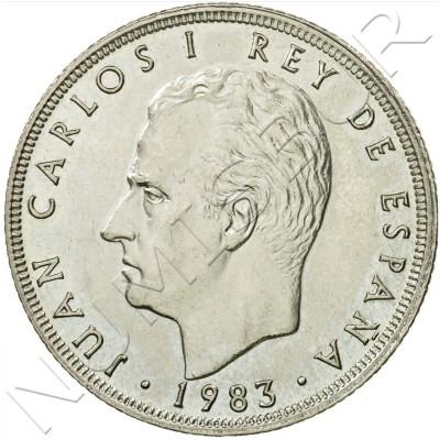 25 pesetas SPAIN 1983 UNC