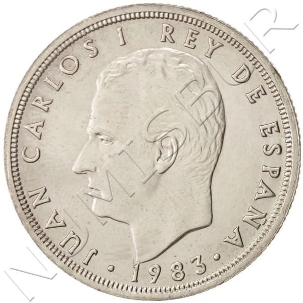 50 pesetas SPAIN 1983 UNC