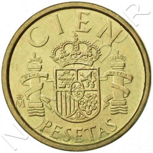 100 pesetas SPAIN 1986 UNC