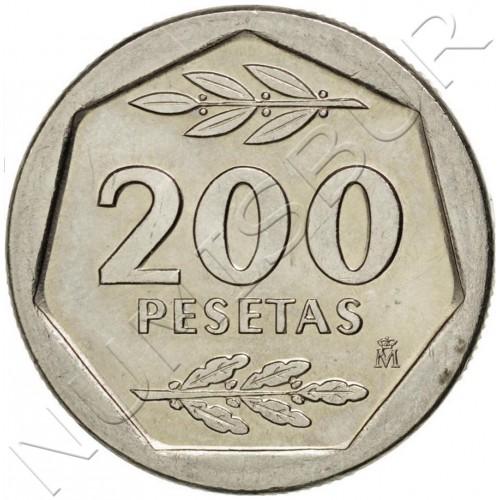 200 pesetas SPAIN 1987 UNC