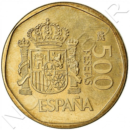 500 pesetas SPAIN 1987 UNC