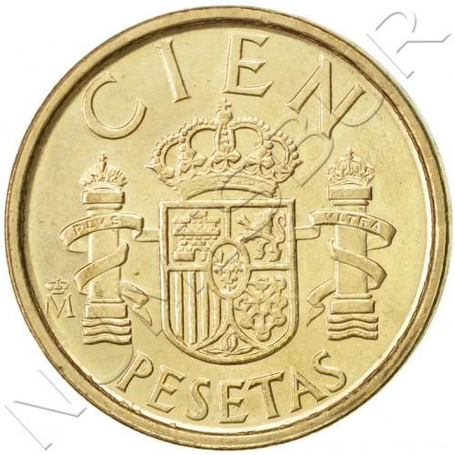 100 pesetas SPAIN 1988 UNC