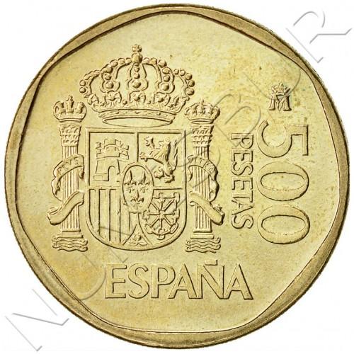 500 pesetas SPAIN 1988 UNC