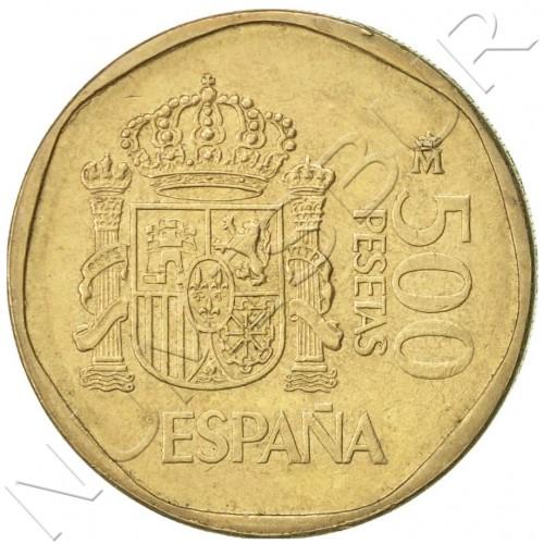 500 pesetas SPAIN 1989 UNC