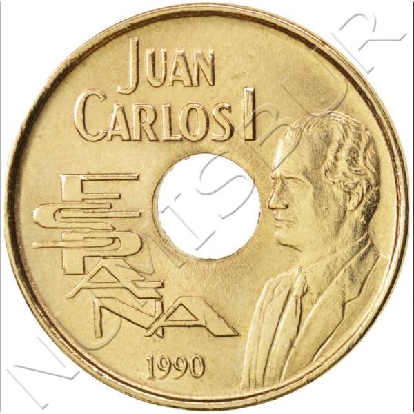 25 pesetas SPAIN 1990 - Barcelona '92 UNC