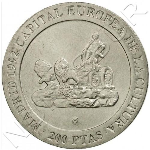 200 pesetas SPAIN 1991 UNC