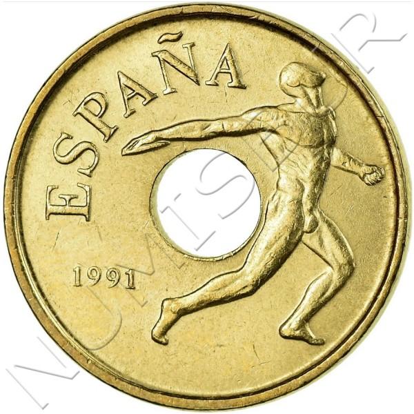 25 pesetas SPAIN 1991 - Barcelona '92 UNC
