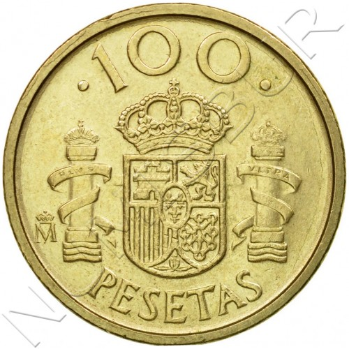 100 pesetas SPAIN 1992 UNC