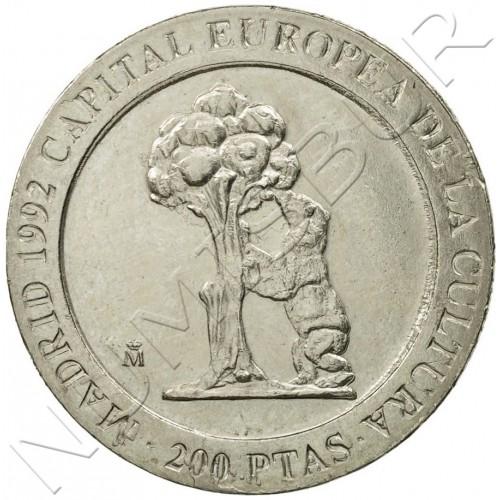200 pesetas SPAIN 1992 UNC