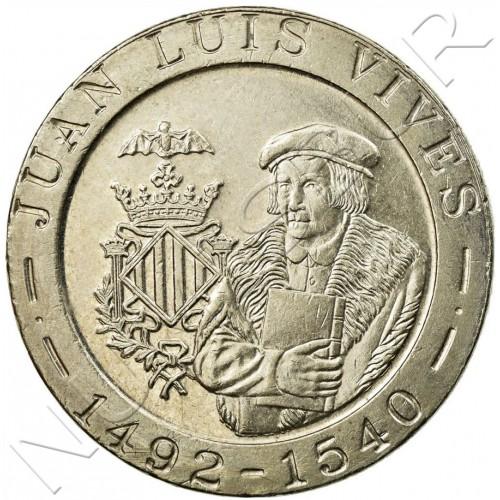 200 pesetas SPAIN 1993 - Luis Vives UNC