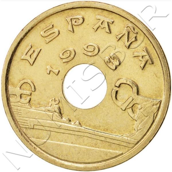 25 pesetas SPAIN 1993 - Pais Vasco