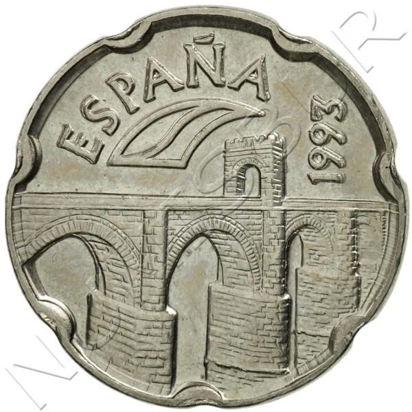 50 pesetas SPAIN 1993 - Extremadura UNC
