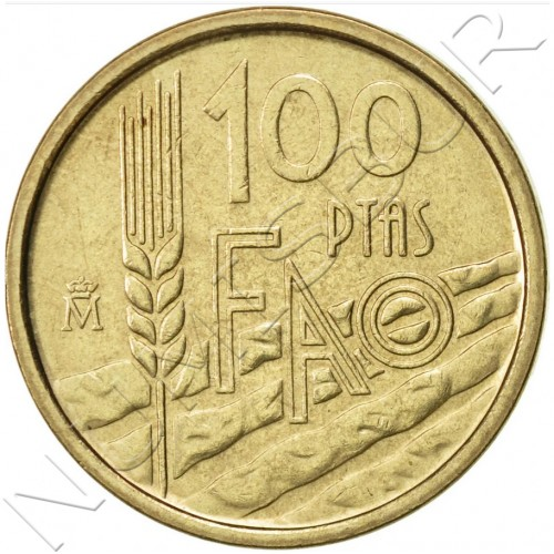100 pesetas SPAIN 1995 UNC