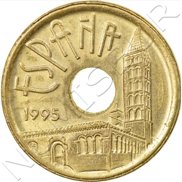 25 pesetas SPAIN 1995 - Castilla y Leon