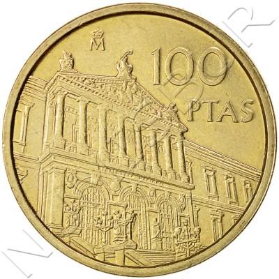 100 pesetas SPAIN 1996 UNC