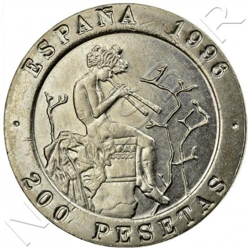 200 pesetas SPAIN 1996 - Masters of Spanish painting UNC