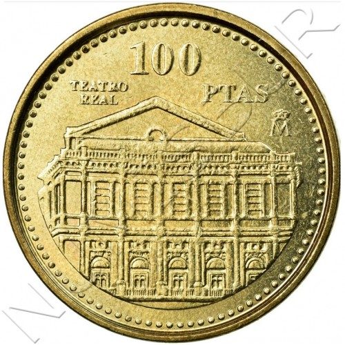 100 pesetas SPAIN 1997 UNC