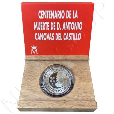 1000 pesetas SPAIN 1997 - Canovas del Castillo