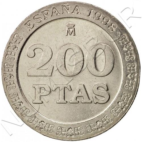 200 pesetas SPAIN 1998 - UNC