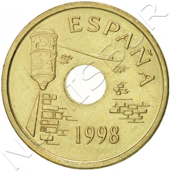 25 pesetas SPAIN 1998 - Ceuta