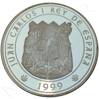 10000 pesetas SPAIN 1999 - Compostela jubilee year