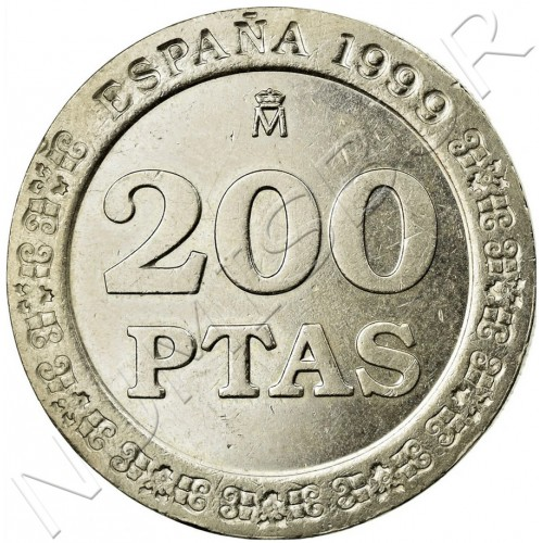 200 pesetas SPAIN 1999 - UNC