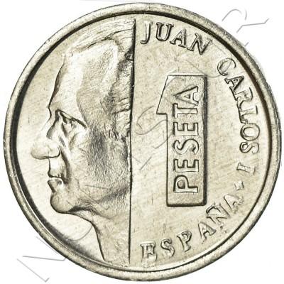 1 peseta SPAIN 2001 UNC